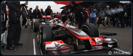 GP Singapour - Course : Hamilton 5° Button 2°