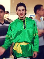 Les costumes de fêtes à Mardi Gras, la Russie