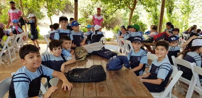 Clôture de l'année scolaire du cycle primaire à Arnaoun.