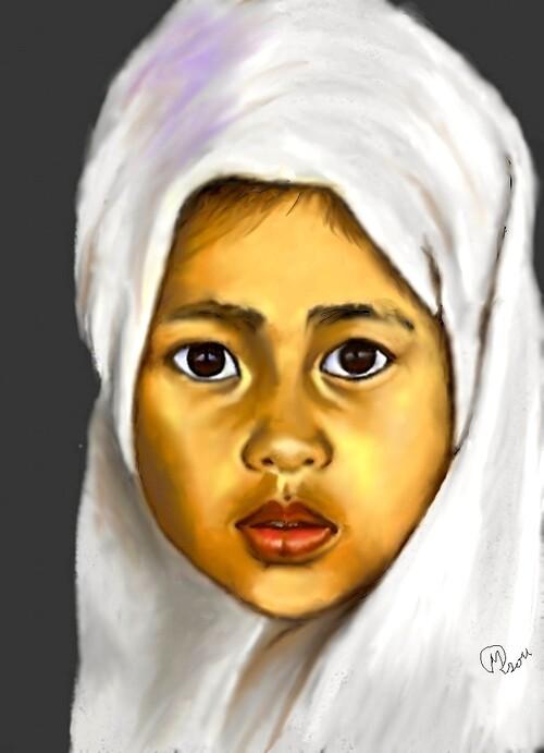 enfant marocain   palette graphique
