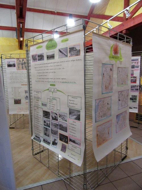 Une superbe exposition sur la fin de la grande Guerre a eu lieu à Montigny sur Aube...