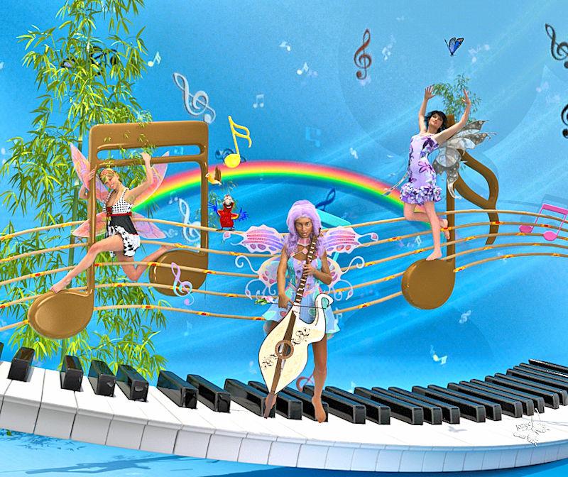 Les fées et la musique