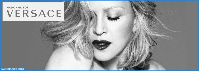 Madonna For Versace Spring Summer 2015 Mert and Marcus