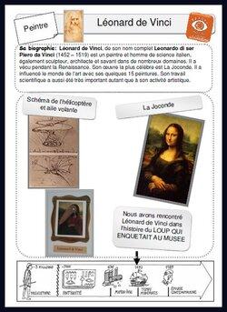 Histoire des arts: LE LOUP QUI ENQUETAIT AU MUSEE
