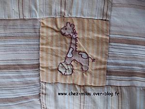 Patchwork aux ânes redoublé111