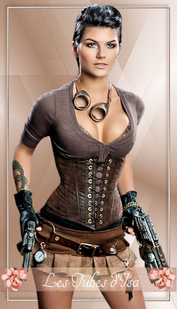 ST0008 - Tube femme steampunk
