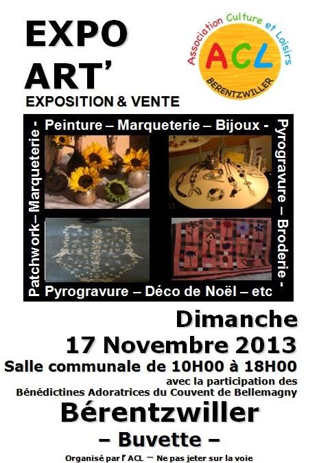 Expo Art Bérentzwiller par Patience d'Ange