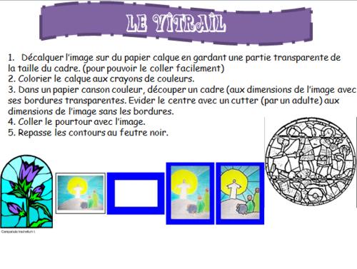 """Détails du projet """"Vitrail"""""""