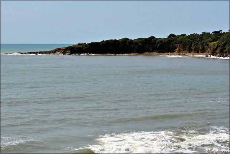 La baie de Cayola à Château-d'Olonne (Vendée)