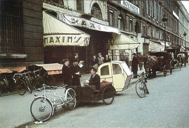 Andre Zucca: Nazi Propaganda Photos - Paris during WW242