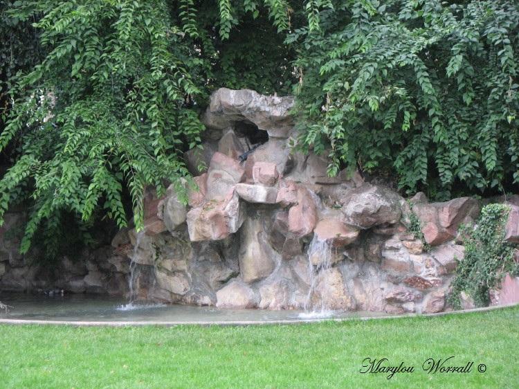 Jeux d'eau colmariens : Square Thomas