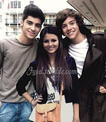 Victoria Justice et les One direction