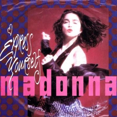 Madonna - Express Yourself - 1989