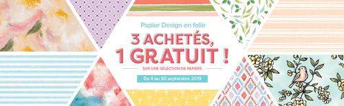 catalogue Automne - Hiver et promotion papiers imprimés.....