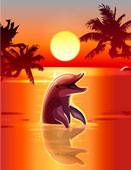 MY WORLD OF DOLPHINS