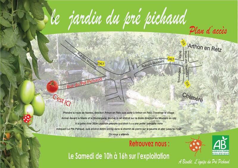 Plan accès Pré Pichaud