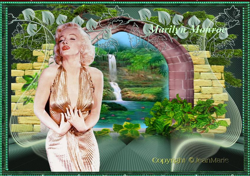 Défi 74:Marylin Une star ,une étoile(Copyright numéro de dépôt c97634 )