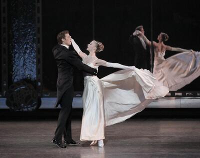 dance ballet story ballet balanchine walz ballet