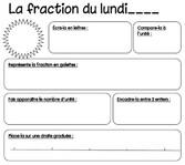 Rituel : la fraction du jour - cm2