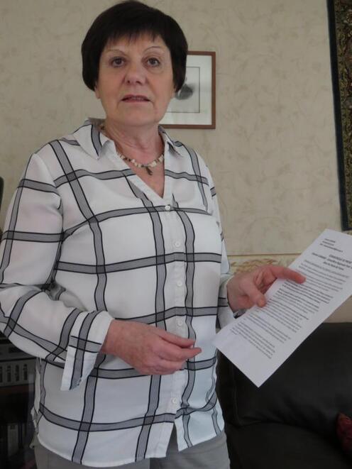 Chantal Lemaire continuera son mandat de conseillère régional jusqu'au bout. -