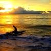 coucher de soleil a Mahina 2