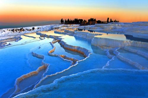 Patrimoine mondial de l'Unesco : Pamukkale - Turquie -