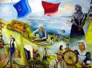 Symboles Acadie