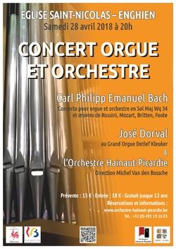 Actualités - Concert Orgue & Orchestre