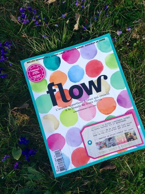 Flow magazine: le bonheur à chaque page