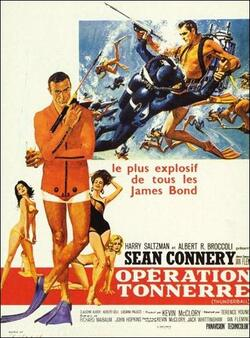 GOLDFINGER - BOX OFFICE SEAN CONNERY 1965