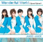 """Les pochettes de """"Wonderful World / Ça va ? Ça va ?"""" révélées"""
