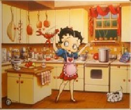 Betty en cuisine