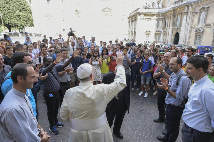 Jeunes confirmés de Chiavari (Italie) 05/09/2017 © L'Osservatore Romano