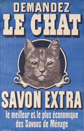 Savon le chat et toilette de chats