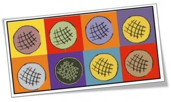 La galette : idées en arts-plastiques