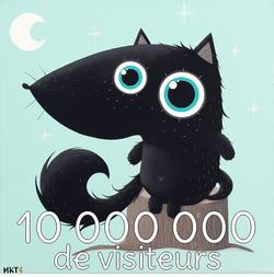 10 000 000 de visiteurs... !!!