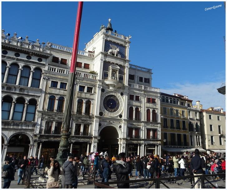 Venise, Torre dell'Orologio, tour de l'horloge