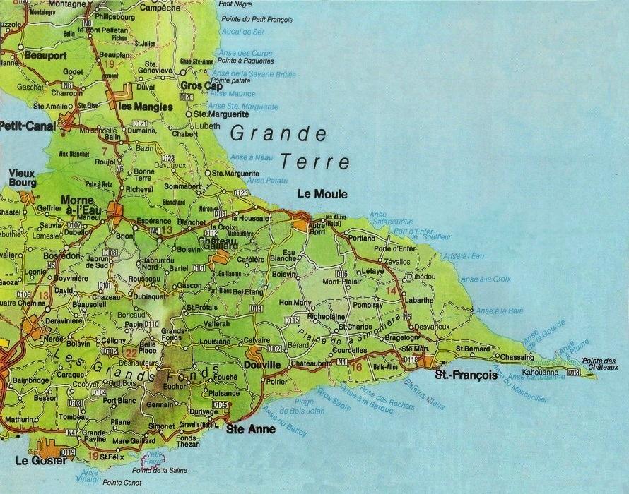 Des erreurs sur Google   Val & Titi en Guadeloupe