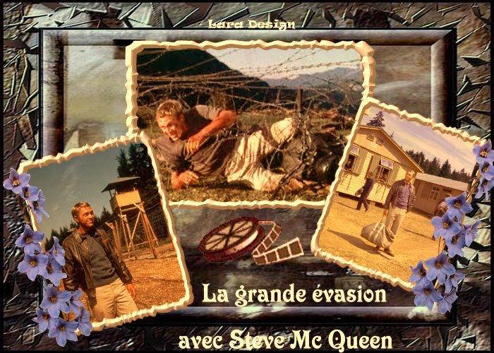 "La grande évasion ""Steve Mc Queen"""