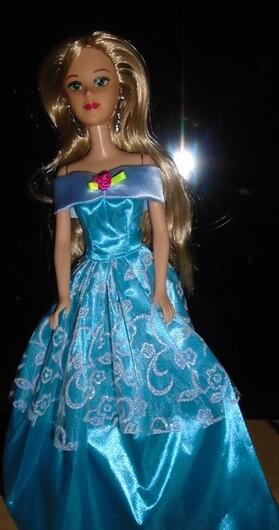 présentation des petites poupées