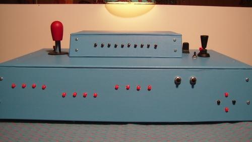 Fabrication d'une console train cab contrôle