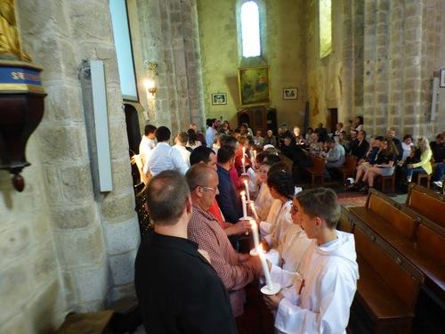 Les cérémonies de la Profession de foi