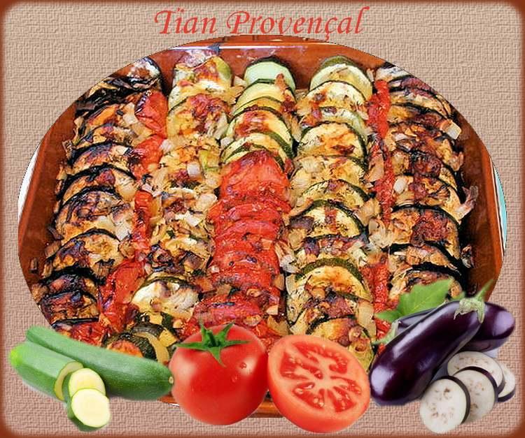 Recette de cuisine : Tian Provençal