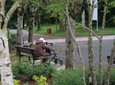 Les vieux ont-ils besoin d'espaces verts ?