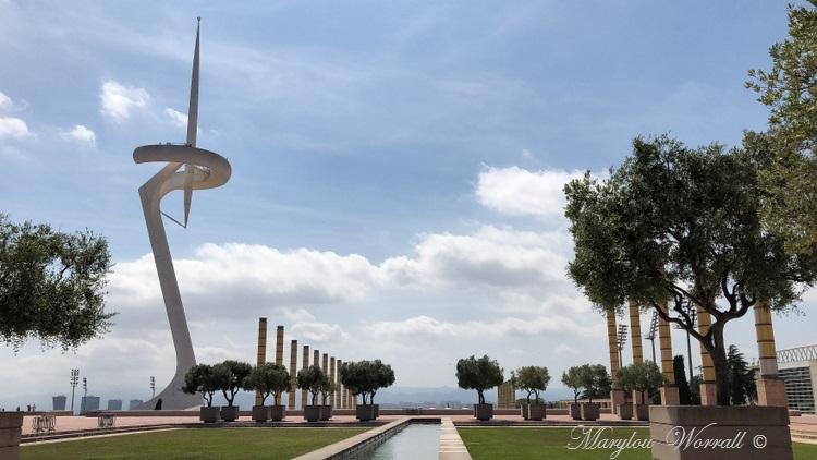 Barcelone : La colline Montjuïc