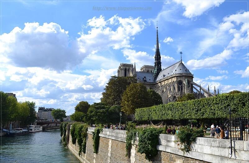 Notre-Dame de Paris : Le chevet de la cathédrale