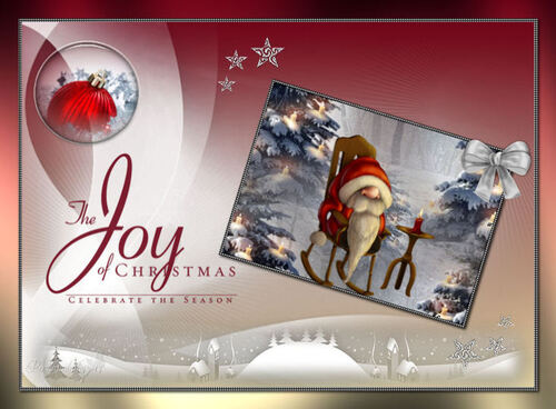 Christmas Joy de Linda PSP design