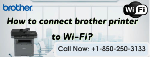 Connect Brother Printer to wifi through wifi.