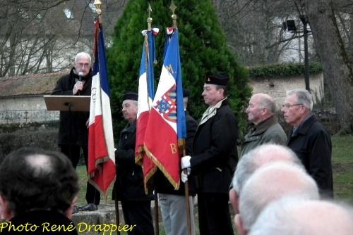 Le cinquantenaire de la fin de la guerre d'Algérie commémoré  à Châtillon sur Seine..