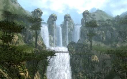 le pont de la cascade